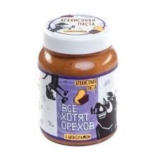 Арахисовая паста «Все хотят орехов» с шоколадом